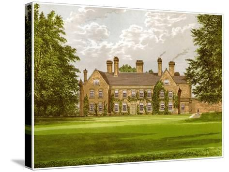 Nether Hall, Suffolk, Home of the Greene Family, C1880-AF Lydon-Stretched Canvas Print