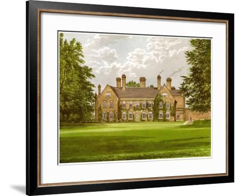Nether Hall, Suffolk, Home of the Greene Family, C1880-AF Lydon-Framed Art Print