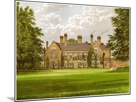 Nether Hall, Suffolk, Home of the Greene Family, C1880-AF Lydon-Mounted Giclee Print