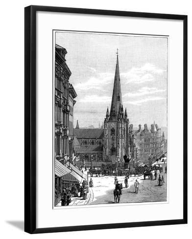 Church of St Martin in the Bull Ring, Birmingham, West Midlands, 1887--Framed Art Print