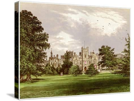 Preston Hall, Kent, Home of the Brassey Family, C1880-Benjamin Fawcett-Stretched Canvas Print