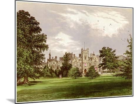 Preston Hall, Kent, Home of the Brassey Family, C1880-Benjamin Fawcett-Mounted Giclee Print