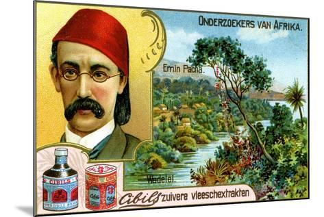 Emin Pasha, German Doctor, Linguist and Administrator--Mounted Giclee Print