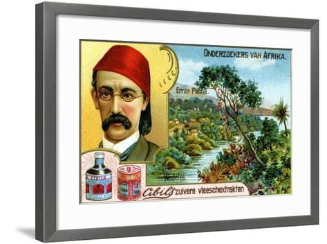 Emin Pasha, German Doctor, Linguist and Administrator--Framed Art Print