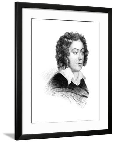 Henry Purcell, 17th Century English Baroque Composer--Framed Art Print