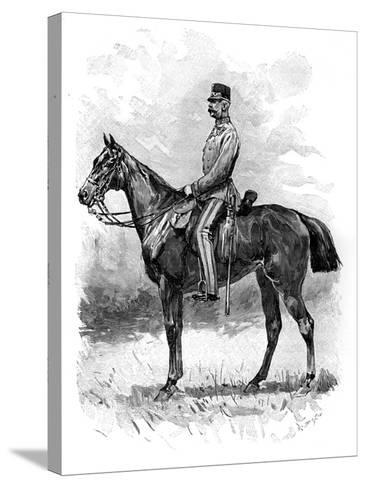 Emperor Franz Josef of Austria, 1892--Stretched Canvas Print