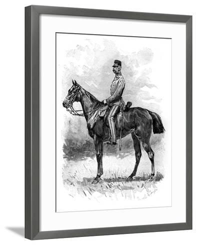 Emperor Franz Josef of Austria, 1892--Framed Art Print