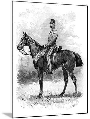 Emperor Franz Josef of Austria, 1892--Mounted Giclee Print