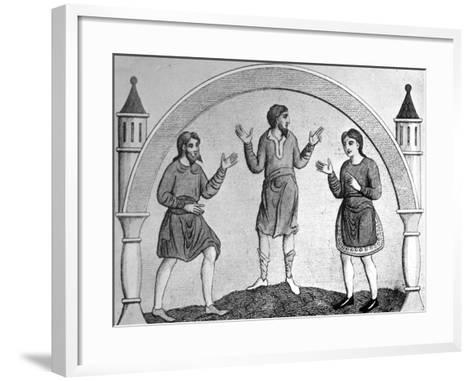 The Saxon Tunica--Framed Art Print