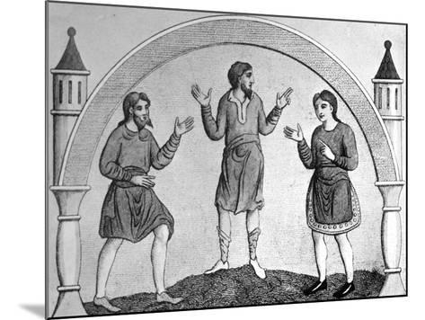 The Saxon Tunica--Mounted Giclee Print