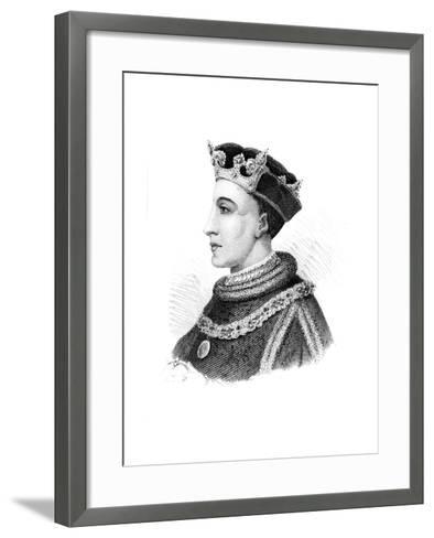 Henry V, King of England--Framed Art Print