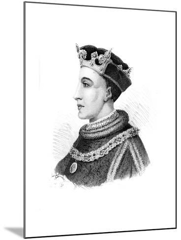Henry V, King of England--Mounted Giclee Print