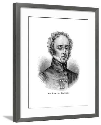 Sir Richard Bourke, Governor of New South Wales--Framed Art Print