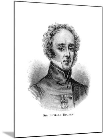 Sir Richard Bourke, Governor of New South Wales--Mounted Giclee Print