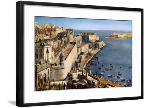 Valletta, Malta, C1930S--Framed Art Print