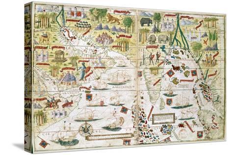 Miller Atlas, C1519--Stretched Canvas Print