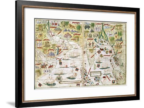 Miller Atlas, C1519--Framed Art Print
