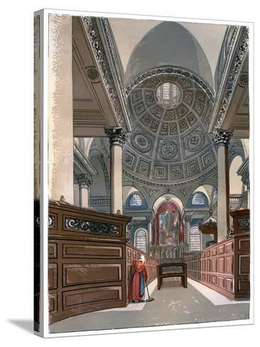 St Stephen'S, Walbrook, C1850--Stretched Canvas Print