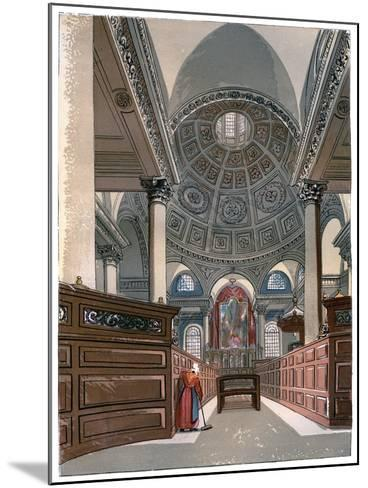 St Stephen'S, Walbrook, C1850--Mounted Giclee Print