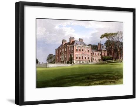 Pynes, Devon, Home of the Northcote Family, C1880-AF Lydon-Framed Art Print