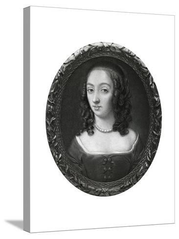 Mrs Claypole (Elizabeth Cromwel), Second Daughter of Oliver Cromwell, 17th Century-Samuel Cooper-Stretched Canvas Print