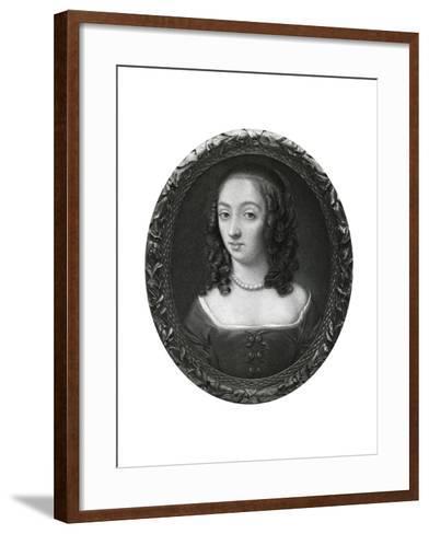 Mrs Claypole (Elizabeth Cromwel), Second Daughter of Oliver Cromwell, 17th Century-Samuel Cooper-Framed Art Print