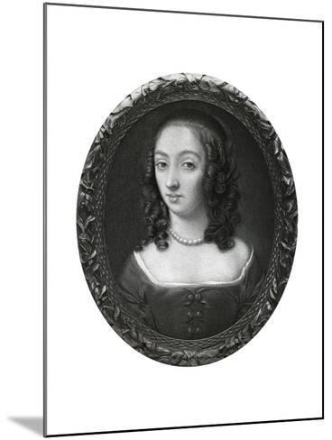 Mrs Claypole (Elizabeth Cromwel), Second Daughter of Oliver Cromwell, 17th Century-Samuel Cooper-Mounted Giclee Print