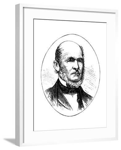 Heber Kimball, Leading Member of the Mormon Movement--Framed Art Print