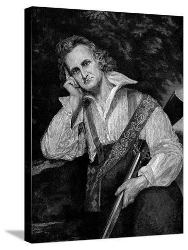 John James Audobon (1780-185), American Ornithologist and Artist--Stretched Canvas Print