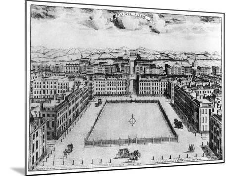 Hanover Square, London, 18th Century--Mounted Giclee Print