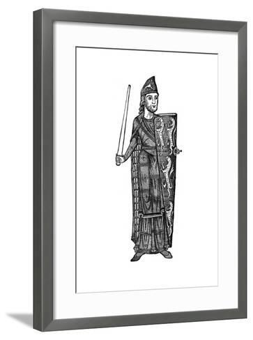 Geoffrey Plantagenet, Count of Anjou, Mid-12th Century--Framed Art Print
