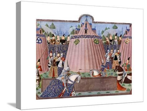 The Jousts of St Inglevert, France, 1470-1475, (C1900-192)--Stretched Canvas Print