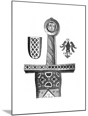 Sword of Charlemagne, C8th Century--Mounted Giclee Print