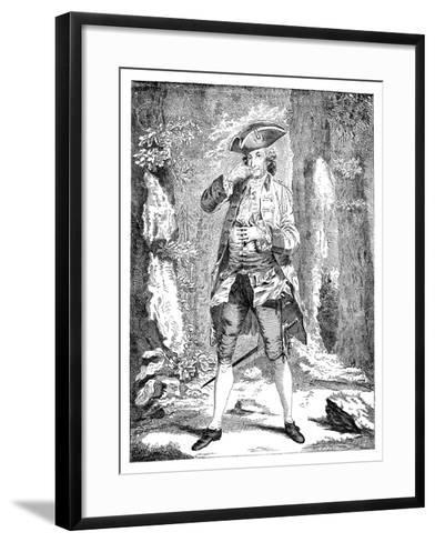 Mr Woodward in the Character of Mercutio, 1753--Framed Art Print