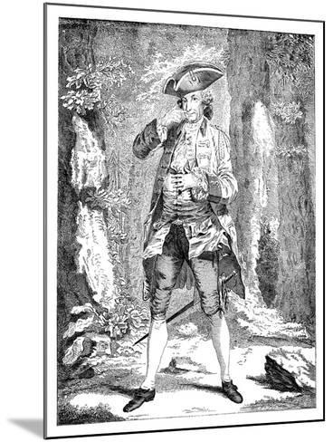 Mr Woodward in the Character of Mercutio, 1753--Mounted Giclee Print