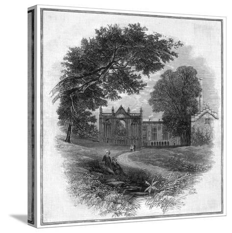 Newstead Abbey, the Ancestral Home of Lord Byron, 1888--Stretched Canvas Print