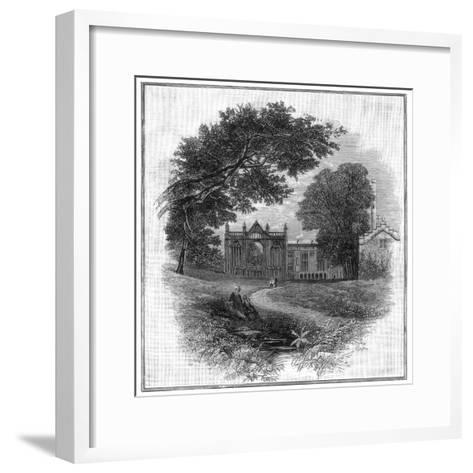 Newstead Abbey, the Ancestral Home of Lord Byron, 1888--Framed Art Print