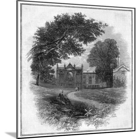 Newstead Abbey, the Ancestral Home of Lord Byron, 1888--Mounted Giclee Print