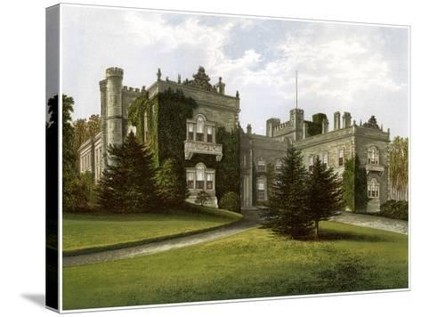 Aske Hall, Yorkshire, Home of the Earl of Zetland, C1880-AF Lydon-Stretched Canvas Print