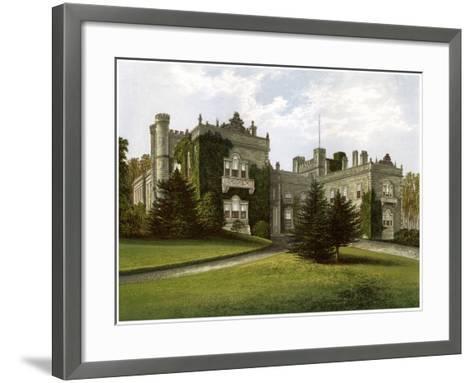 Aske Hall, Yorkshire, Home of the Earl of Zetland, C1880-AF Lydon-Framed Art Print