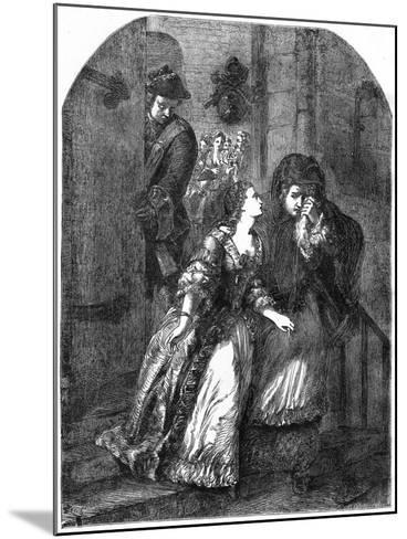 Escape of the Earl of Nithsdale from the Tower of London, 1716--Mounted Giclee Print