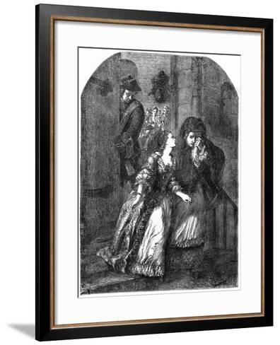 Escape of the Earl of Nithsdale from the Tower of London, 1716--Framed Art Print