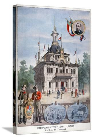 The Transvaal Pavilion at the Universal Exhibition of 1900, Paris, 1900--Stretched Canvas Print