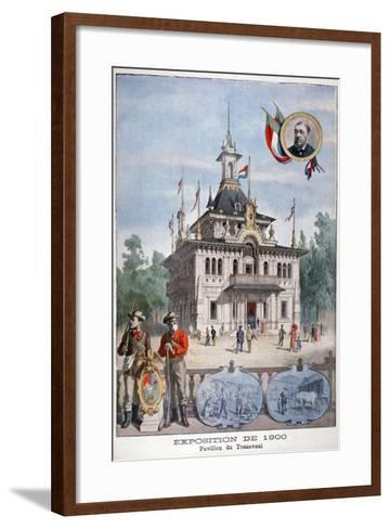 The Transvaal Pavilion at the Universal Exhibition of 1900, Paris, 1900--Framed Art Print