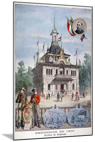 The Transvaal Pavilion at the Universal Exhibition of 1900, Paris, 1900--Mounted Giclee Print