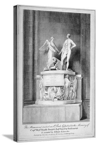 Monument to Captain Richard Rundle Burges, St Paul's Cathedral, City of London, 1803--Stretched Canvas Print