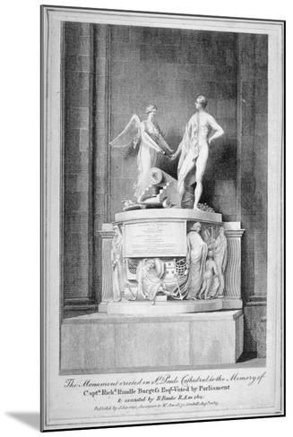 Monument to Captain Richard Rundle Burges, St Paul's Cathedral, City of London, 1803--Mounted Giclee Print