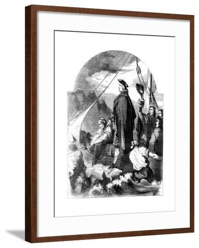 Landing of the Chevalier De St George in Scotland, 1715--Framed Art Print