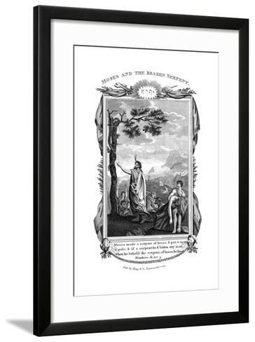 Moses and the Brazen Serpent, C1808--Framed Art Print