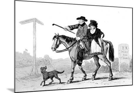 The Constant Couple, 1786--Mounted Giclee Print